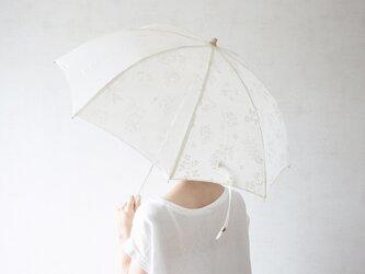 折りたたみ日傘 夏草の画像