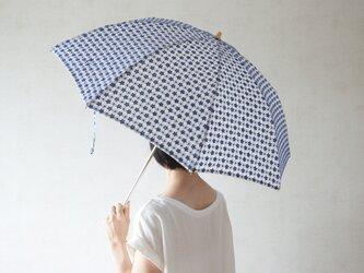 折りたたみ日傘 小花の画像