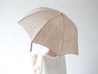 折りたたみ日傘 敷石の画像