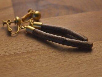 【限定品】自然の小枝のイヤリング/ピアス 0301の画像