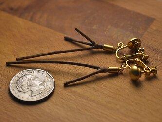 【限定品】自然の小枝のイヤリング/ピアス 0451の画像