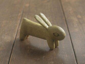 兎◦出来人形◦立◦190813の画像
