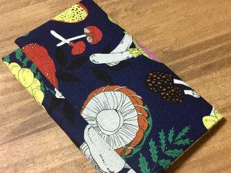 懐紙、通帳いれ Kinoko blueの画像