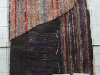裂き織りのはぎれセット 手織り さきおりハギレの画像