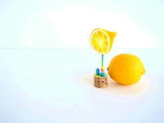 檸檬おばさんと切株くんの画像