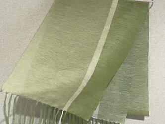 手織りストール SU13の画像