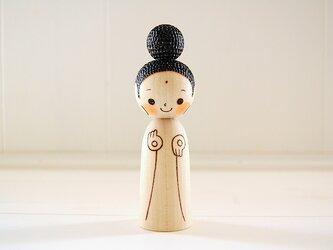 [conocokeshi]仏像こけし*阿弥陀様[114]の画像