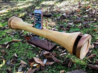 iphone スピーカースタンド キノコ型(オーダーメイド)の画像