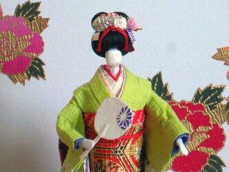 舞妓さん(都をどり) 和紙人形の画像