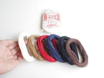 キットの縫い糸(麻手縫い糸30m)の画像