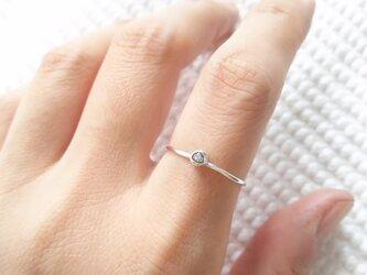リング ラフダイヤモンド 14~15号の画像