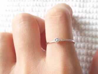 リング ラフダイヤモンド 15~16号の画像