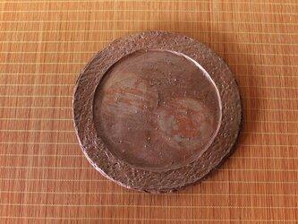 備前焼 皿(約20.5cm) sr4-059の画像