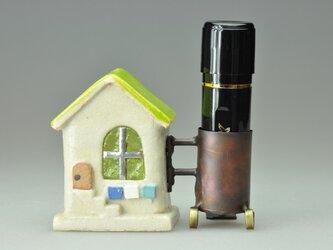 小さな家のハンコ立て (192)の画像