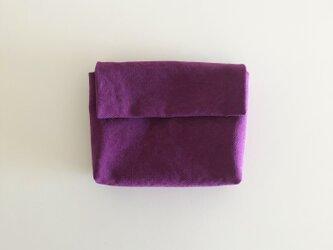 きちんとポーチ L  / purpleの画像