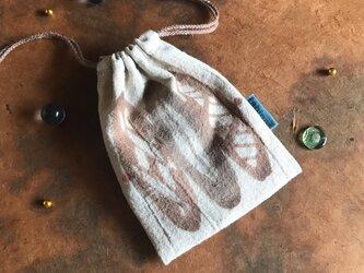 ミニ巾着 パンbの画像