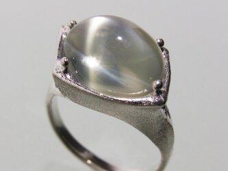 グリーン ムーンストーン  Moonstone Ring lllの画像