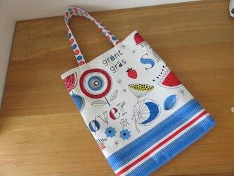 ルシアン ミナコココレクション ペタンコトートバッグの画像