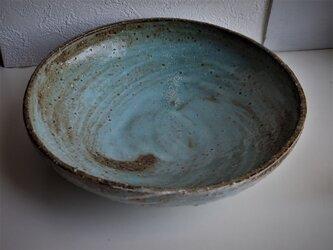 青刷毛目中鉢の画像