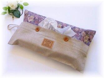 ◆YUWA花柄のボックスティッシュカバー◆の画像