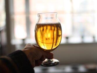 ビールandワイングラスの画像