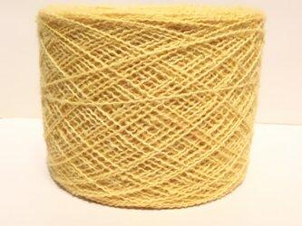 【手染め糸です✨】  ウール 化繊 アルパカ混 ウェーブヤーン 186gの画像