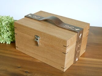 象嵌リボンの小箱〈KU/01〉【受注製作品】の画像