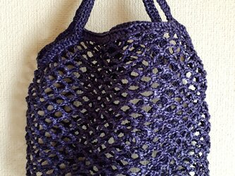 『hibi』Net Bag L(eco/purple)の画像
