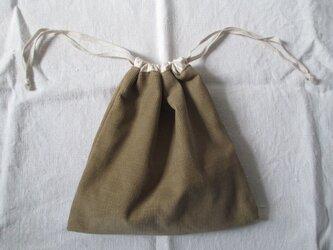 コーデュロイ巾着の画像