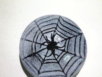 クモペーパーウェイト(黒)の画像