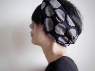 ターバンなヘアバンド ノーブルドット 送料無料の画像