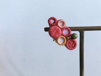 ミニトマトの耳飾りの画像