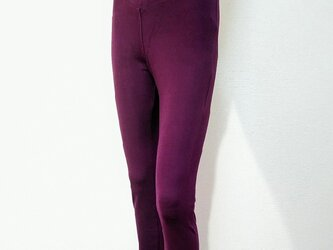 ワンサイズで7~13号の方対応!穿いている感じがしない極上触感ハイテンション美脚スキニーストレートロング:大人のレギンスの画像