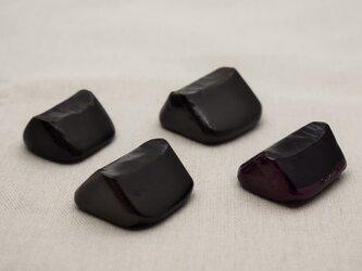 スプーン・箸置 4個セット 黒漆灰色漆紫漆の画像