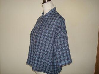 I様ご依頼品「小衿の夏シャツ」の画像