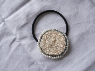 おぼろ月 ヘアゴム ※オーダー品の画像