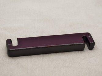 コードリール(ペンダントライト用) 紫漆灰色漆黒漆の画像