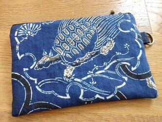 古い木綿を遊ぶ小さなポーチ(弐)の画像