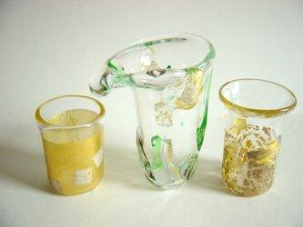 ガラス細工 ー 金 銀 ーの画像