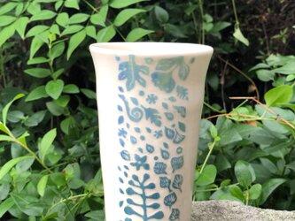 Large kakitoshi cup - blue utopiaの画像