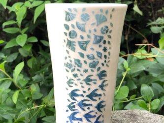Large kakitoshi cup - 秋の田園の画像