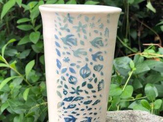 Large kakitoshi cup - 鳥たちが帰る日の画像