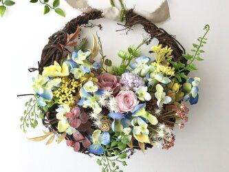 Brownbasket wreathの画像