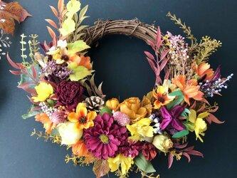 ご結婚・敬老の日お祝い♡Autumn wreathの画像