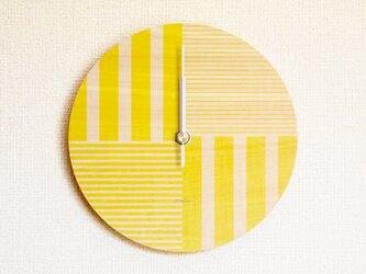 ▶ 掛け時計 ▷ 木製 ▶ B03_Yellowの画像