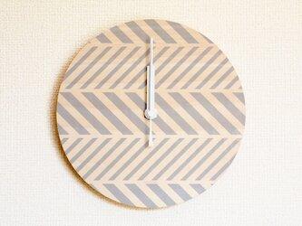 ▶ 掛け時計 ▷ 木製 ▶ D02_Grayの画像