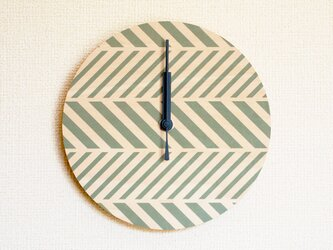 ▶ 掛け時計 ▷ 木製 ▶ D04_ khakiの画像