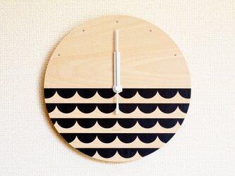 ▶ 掛け時計 ▷ 木製 ▶ E03_Blackの画像