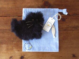 """受注製作 >> PEPOSO: furry animals """"cat"""" ねこ / 黒の画像"""