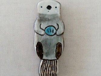 ラッコ箸置き(2個組)の画像